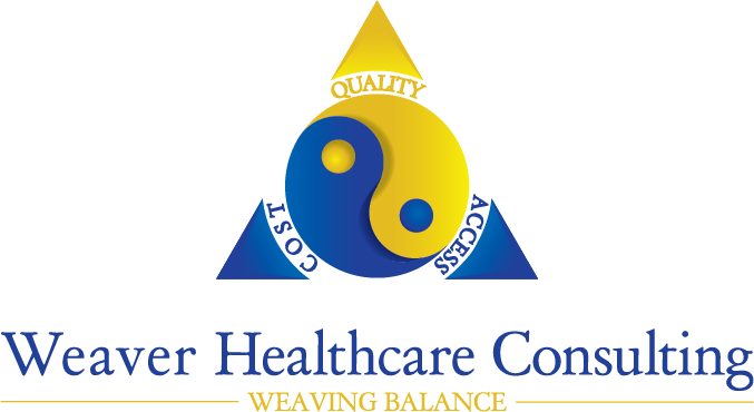 Weaver Healthcare Consulting - Cost - Quality - Access - Weaving Balance logo